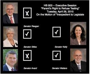 HB603 SEC vote